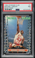 Michael Jordan 1992-93 Stadium Club Beam Team #1 (PSA 7) at PristineAuction.com