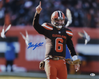 Baker Mayfield Signed Browns 16x20 Photo (Beckett COA) at PristineAuction.com