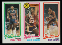 John Long / Magic Johnson All-Star / Ron Boone 1980-81 Topps #111 at PristineAuction.com