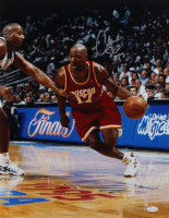 Mario Elie Signed Rockets 16x20 Photo (JSA COA) at PristineAuction.com
