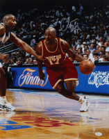 Mario Elie Signed Rockets 16x20 Photo (JSA COA (See Description) at PristineAuction.com