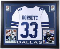 Tony Dorsett Signed 35x43 Custom Framed Jersey (JSA COA) at PristineAuction.com