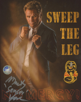 "Martin Kove Signed ""Cobra Kai"" 8x10 Photo Inscribed ""Sensei"" (Pro Player Hologram) at PristineAuction.com"