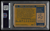 Dirk Nowitzki Signed 2000-01 Topps Heritage #193 (PSA Encapsulated) at PristineAuction.com
