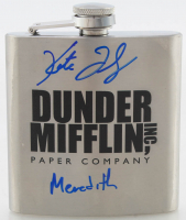 "Kate Flannery Signed ""The Office"" Flask Inscribed ""Meredith"" (PSA COA) at PristineAuction.com"