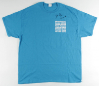 "Kate Flannery Signed ""The Office"" T-Shirt Inscribed ""Meredith"" (PSA COA) at PristineAuction.com"