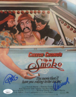 "Cheech Marin & Tommy Chong Signed ""Up in Smoke"" 8x10 Movie Poster Print (JSA COA) at PristineAuction.com"