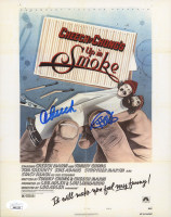 """Cheech Marin & Tommy Chong Signed """"Up in Smoke"""" 8x10 Movie Poster Print (JSA COA) (See Description) at PristineAuction.com"""