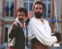 "Cheech Marin & Tommy Chong Signed ""The Corsican Brothers"" 8x10 Movie Poster Print (JSA COA) at PristineAuction.com"