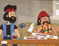 "Cheech Marin & Tommy Chong Signed ""Cheech & Chong's Animated Movie"" 8x10 Movie Poster Print (JSA COA) at PristineAuction.com"