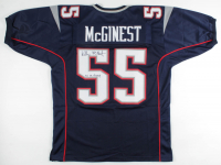 """Willie McGinest Signed Jersey Inscribed """"3x SB Champ"""" (JSA COA) at PristineAuction.com"""