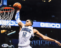 Tobias Harris Signed Magic 8x10 Photo (Beckett COA) at PristineAuction.com