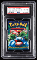 1999 1st Edition Pokemon Base Set Venusaur Booster Pack - Spanish with (11) Cards (PSA 10) at PristineAuction.com