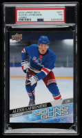 Alexis Lafreniere 2020-21 Upper Deck #201 YG Jumbo RC (PSA 7) at PristineAuction.com