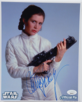 """Carrie Fisher Signed """"Star Wars: Episode V – The Empire Strikes Back"""" 8x10 Photo (JSA LOA) at PristineAuction.com"""