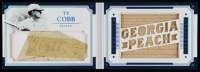 Ty Cobb 2016 Panini National Treasures Legends Cuts Booklet Materials Nickname Bat #LCBMTC at PristineAuction.com