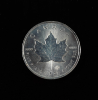 2016 Canada Elizabeth II $5 1 Oz. .999 Silver Dollar Coin at PristineAuction.com