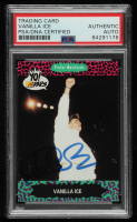 Vanilla Ice Signed 1991 YO! MTV Raps Complete Series #87 (PSA Encapsulated) at PristineAuction.com