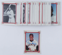 """1984 Renata Galasso Complete set of (90) """"The Willie Mays Story"""" with Willy Mays Signed #1 Card  (Beckett COA) at PristineAuction.com"""
