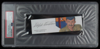 Dolphin D. Overton III Signed 1.5x5 Cut (PSA Encapsulated) at PristineAuction.com
