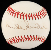 Duke Snider Signed ONL Baseball (Beckett COA) at PristineAuction.com