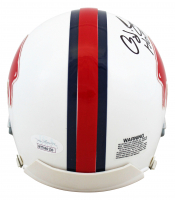 "O.J. Simpson Signed Bills Mini Helmet Inscribed ""HOF 85'"" (JSA COA) at PristineAuction.com"