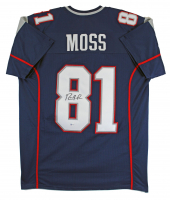 Randy Moss Signed Jersey (Beckett COA) at PristineAuction.com