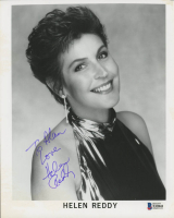 "Helen Reddy Signed 8x10 Photo Inscribed ""Love"" (Beckett COA) (See Description) at PristineAuction.com"