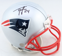 Ty Law Signed Patriots Mini Helmet (Beckett COA) at PristineAuction.com
