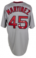 Pedro Martinez Signed Red Sox Jersey (PSA Hologram) at PristineAuction.com