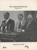 Menachem Begin Signed 8x10 1978 Camp David Summit Magazine (Beckett COA) at PristineAuction.com