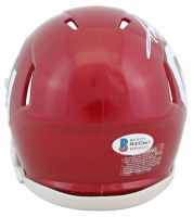 Adrian Peterson Signed Oklahoma Sooners Speed Mini Helmet (Beckett COA) at PristineAuction.com