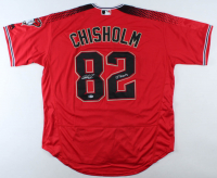 "Jazz Chisholm Signed Diamondbacks Jersey Inscribed ""J-Nasty"" (Beckett COA) at PristineAuction.com"