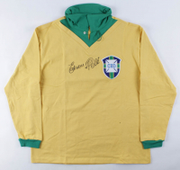 Pele Signed Brazil Jersey (JSA ALOA) (See Description) at PristineAuction.com