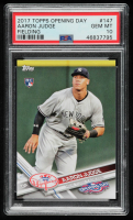 Aaron Judge 2017 Topps Opening Day #147A RC (PSA 10) at PristineAuction.com