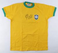 Pele Signed Brazil Jersey (JSA ALOA) at PristineAuction.com