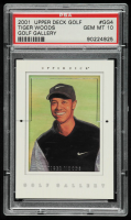 Tiger Woods 2001 Upper Deck Gallery #GG4 (PSA 10) at PristineAuction.com