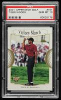 Tiger Woods 2001 Upper Deck #151 VM (PSA 10) at PristineAuction.com