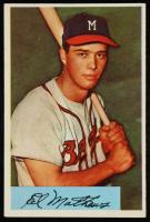 Eddie Mathews 1954 Bowman #64 at PristineAuction.com