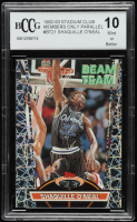Shaquille O'Neal 1992-93 Stadium Club Members Only Parallel #BT21 (BCCG 10) at PristineAuction.com