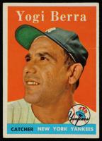 Yogi Berra 1958 Topps #370 at PristineAuction.com