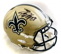 Jeremy Shockey Signed Saints Full-Size Authentic On-Field Helmet (Beckett COA) at PristineAuction.com