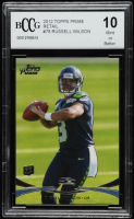 Russell Wilson 2012 Topps Prime Retail #78 RC (BCCG 10) at PristineAuction.com