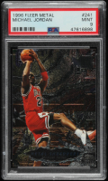 Michael Jordan 1996-97 Metal #241 MS (PSA 9) at PristineAuction.com