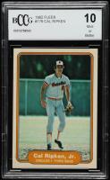 Cal Ripken 1982 Fleer #176 RC (BCCG 10) at PristineAuction.com