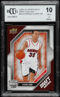 Stephen Curry 2009-10 Upper Deck Draft Edition #34 SP (BCCG 10) at PristineAuction.com
