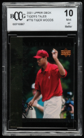 Tiger Woods 2001 Upper Deck Tiger's Tales #TT8 (BCCG 10) at PristineAuction.com