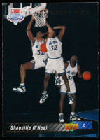 Shaquille O'Neal 1992-93 Upper Deck #1 SP RC / NBA First Draft Pick at PristineAuction.com