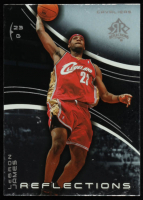 LeBron James 2003-04 Upper Deck Triple Dimensions Reflections #10 at PristineAuction.com