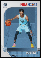 Ja Morant 2019-20 Hoops #259 RC at PristineAuction.com